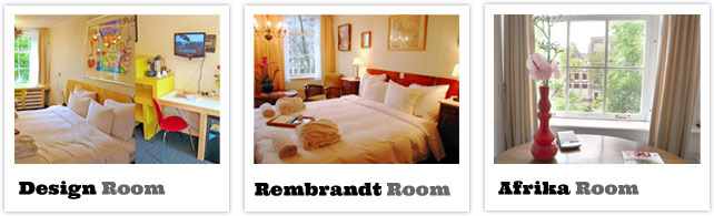 View photos of our canal view rooms at hotel misc eatdrinksleep in Amsterdam.